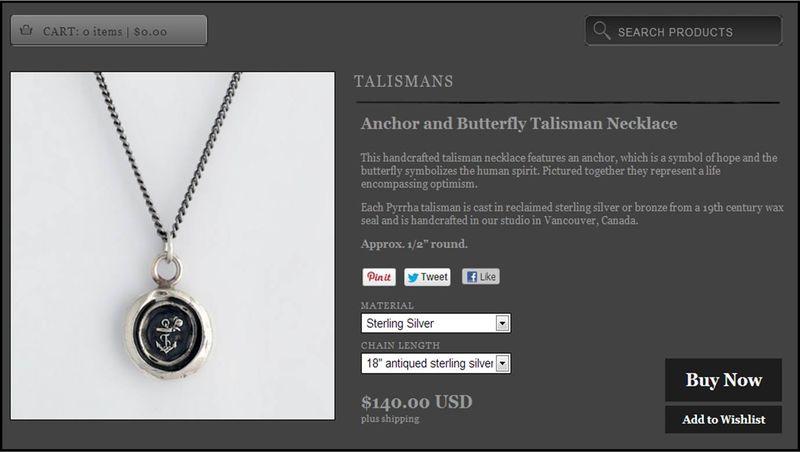 Talisman for Me