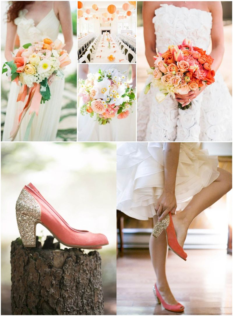 Peach - Flowers and Decor